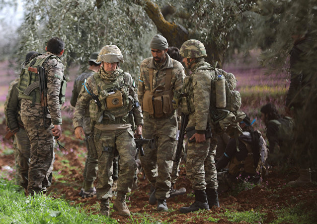 Afrin'in kuzeyi Türk askerleri ÖSO