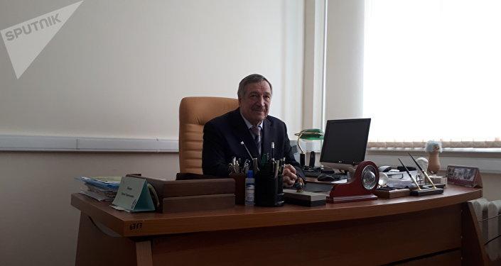 Türk öğrencileri eğiten Obninsk Nükleer Enerji Enstitüsü Nükleer Enerji Santral Donanım ve İşletme Kürsü Başkanı Prof. Dr. Sergey Leskin