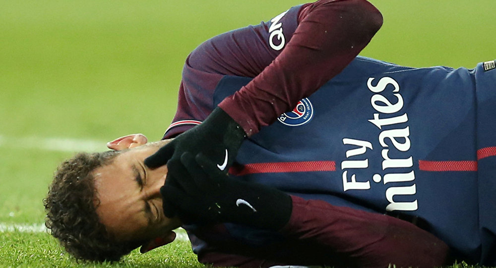 Paris St Germain - Olympique de Marseille, Parc des Princes, Paris, Neymar sakatlandı