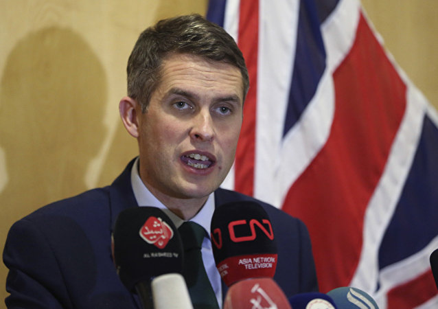 İngiltere Savunma Bakanı Gavin Williamson