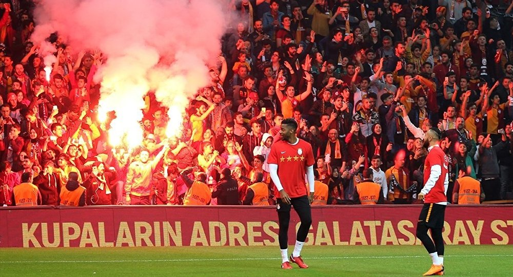 Galatasaray derbiye hazırlanıyor