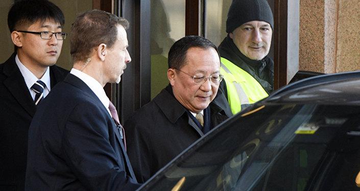 Kuzey Kore Dışişleri Bakanı Ri Yong Ho