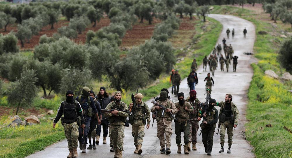 TSK destekli ÖSO güçleri- Afrin