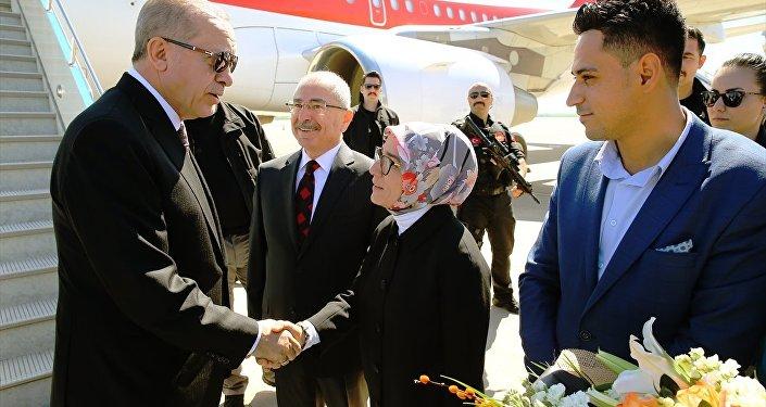 Cumhurbaşkanı Recep Tayyip Erdoğan-Mardin