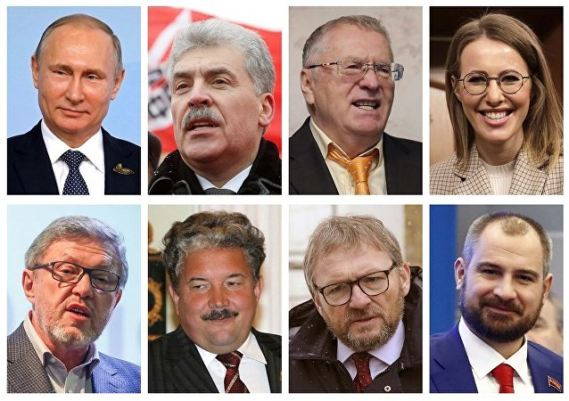 Rusya, 2018 devlet başkanlığı seçimleri
