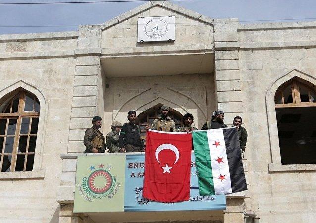 Afrin şehir merkezi, TSK-ÖSO