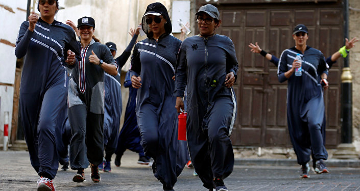8 Mart 2018 Suudi Arabistan Cidde kadınlar maraton