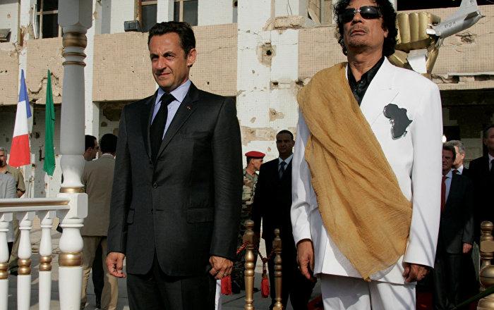 'Sarkozy hakkında açılan soruşturma Libya'da memnuniyetle karşılandı'