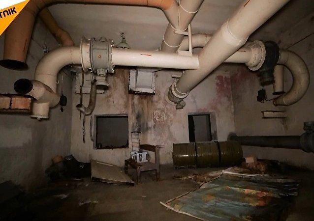 Letonya'da Sovyet döneminden kalma askeri yeraltı sığınak bulundu