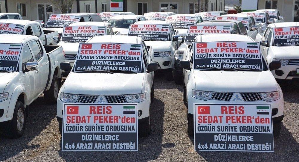 Sedat Peker, ÖSO, arazi aracı
