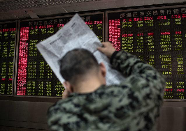 Çin-Borsa