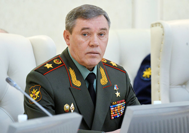 General of the Army Valery Gerasimov, Commander of the General Staff of the Russian Federation