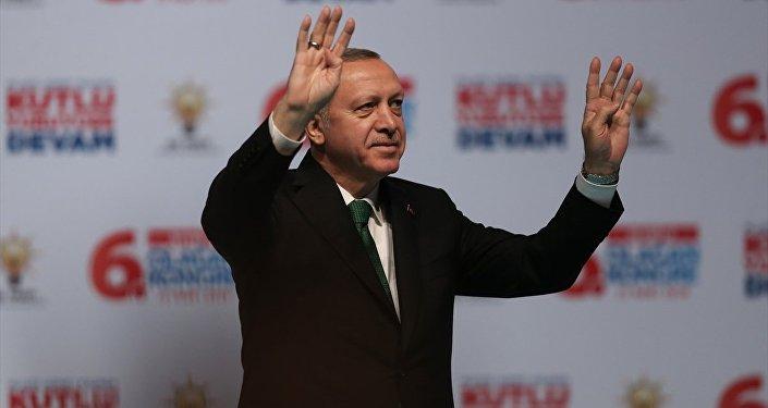 Cumhurbaşkanı ve AK Parti Genel Başkanı Recep Tayyip Erdoğan, AK Parti Beyoğlu 6. Olağan İlçe Kongresi'ne katılarak konuşma yaptı.