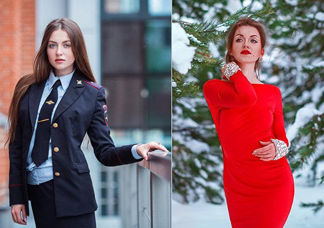 Rusya'nın model görünümlü kadın polisleri: 'Tutukla beni' diye laf atanlar oluyor