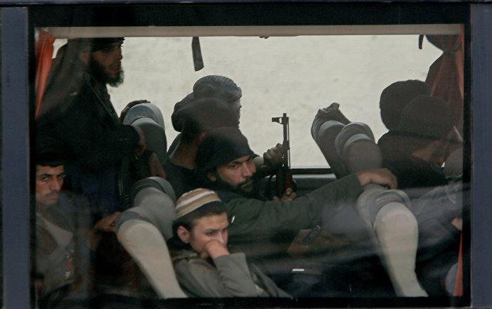 Doğu Guta'dan çıkan militanlar Suriye'nin kuzeyinde ne yapacak?