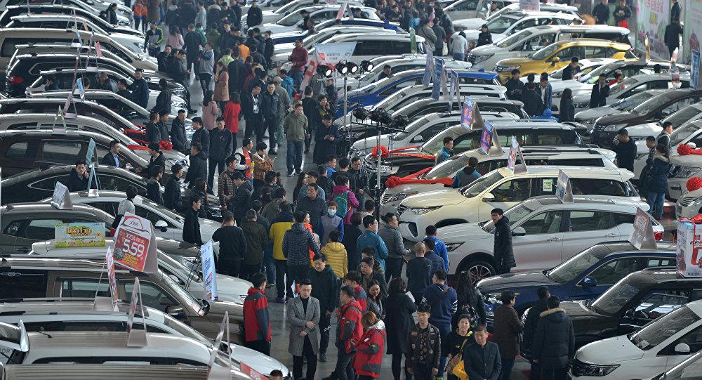 Çin otomobil fuarı