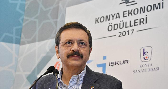 Türkiye Odalar ve Borsalar Birliği (TOBB) Başkanı Rifat Hisarcıklıoğlu