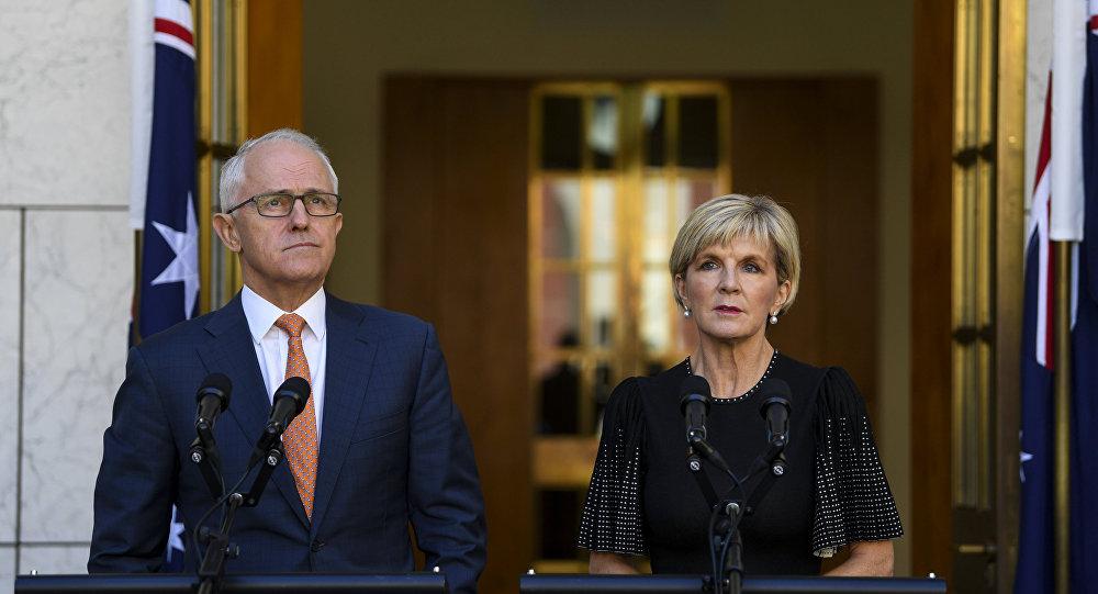 Avustralya Başbakanı Malcolm Turnbull- Avustralya Dışişleri Bakanı Julie Bishop