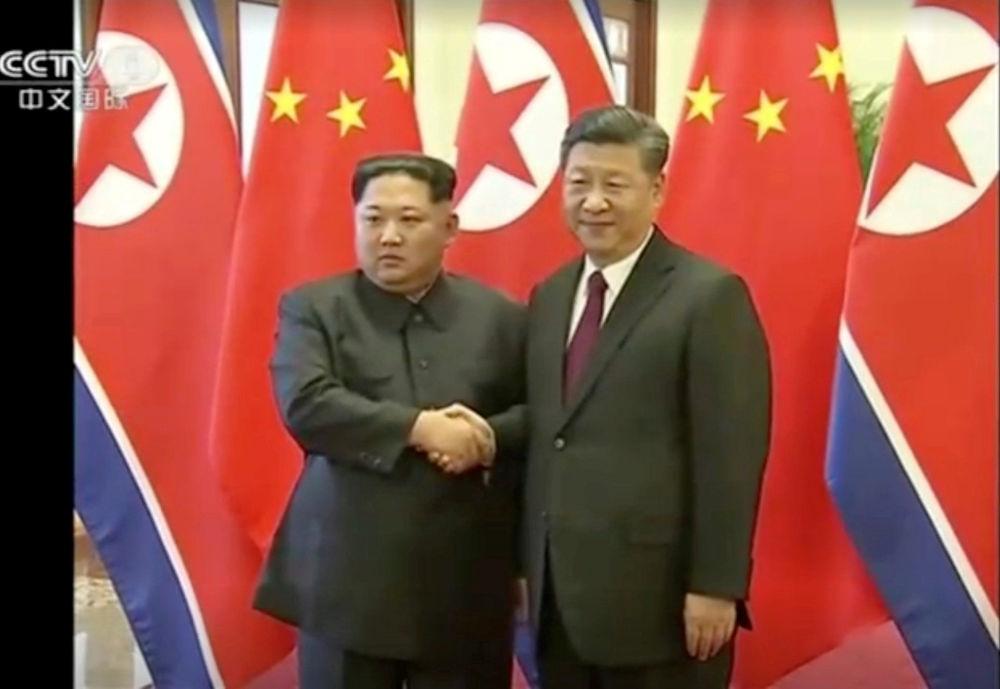 Kuzey Kore lideri Kim'in  Çin ziyareti
