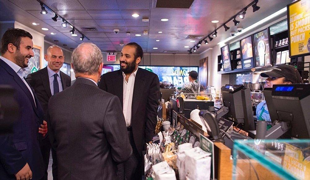 Suudi Arabistan Veliaht Prensi Muhammed bin Selman, ABD'de