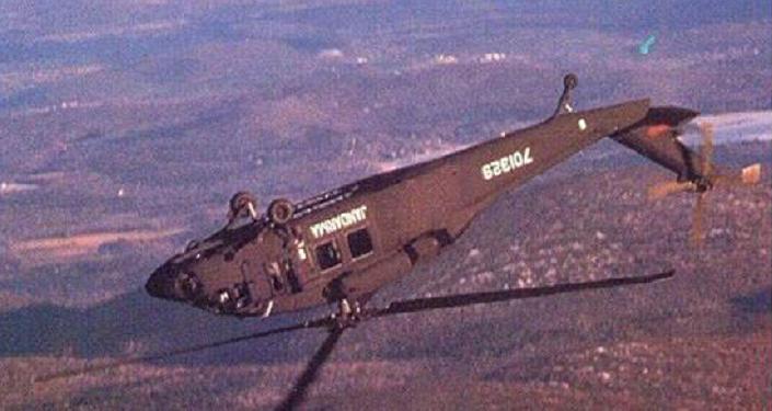 Jandarma pilotu, Sikorsky S-70'i ters döndürdü