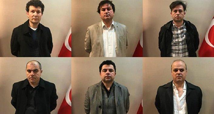 Cihan Özkan, Kahraman Demirez, Hasan Hüseyin Günakan, Mustafa Erdem, Osman Karakaya ve Yusuf Karabina