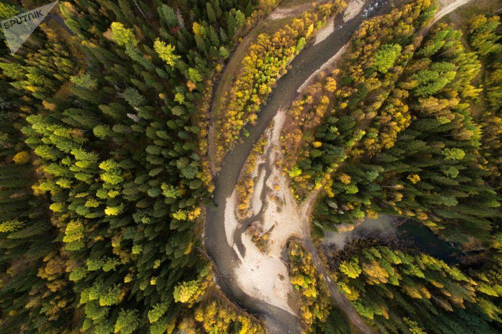 Doğa manzaralarının muhteşem geometrisi