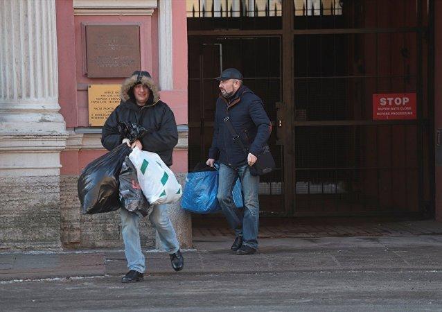 ABD'nin St. Petersburg'daki konsolosluğunda sınır dışı edilen diplomatlar