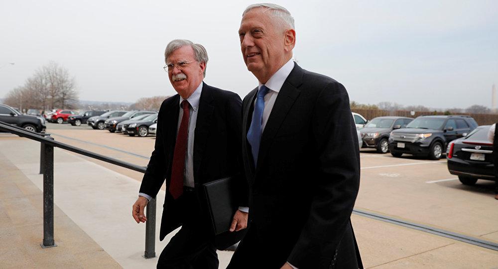 Mattis Bolton Pentagon