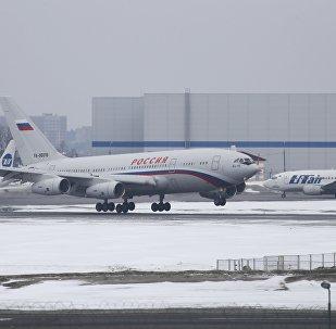 ABD'nin sınır dışı ettiği Rus diplomatları ve ailelerini taşıyan uçak