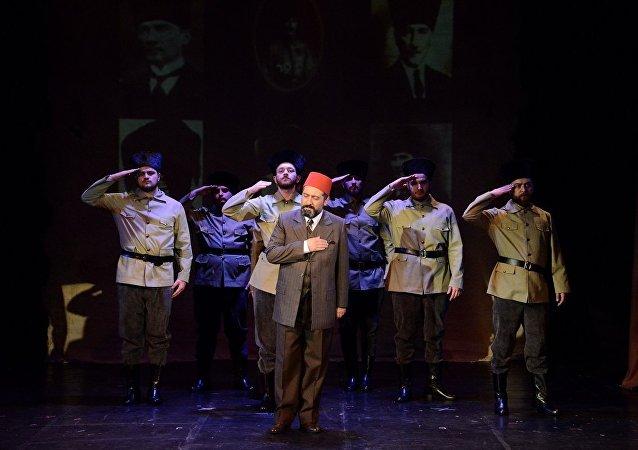Devlet Tiyatroları sınırda 'Mehmet Akif' oyununu oynayacak