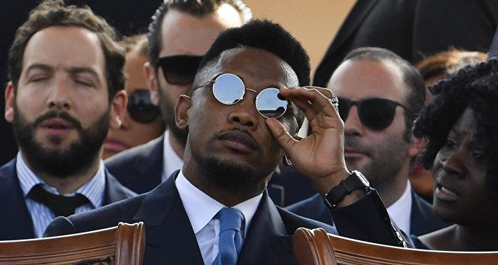 Atiker Konyaspor'da forma giyen Kamerunlu futbolcu Samuel Eto'o