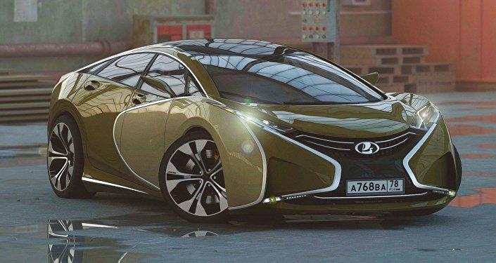 Rus tasarımcı, Lada Questa'nın konsept görüntüsünü yayınladı