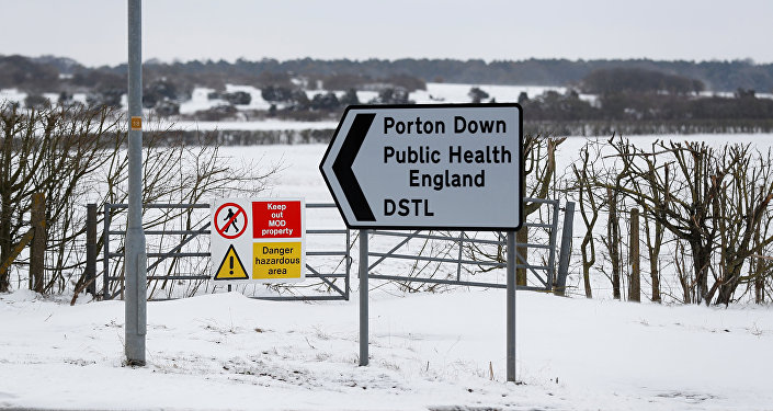 Porton Down Laboratuvarı, Porton Down Defence Science and Technology Laboratory, near Salisbury
