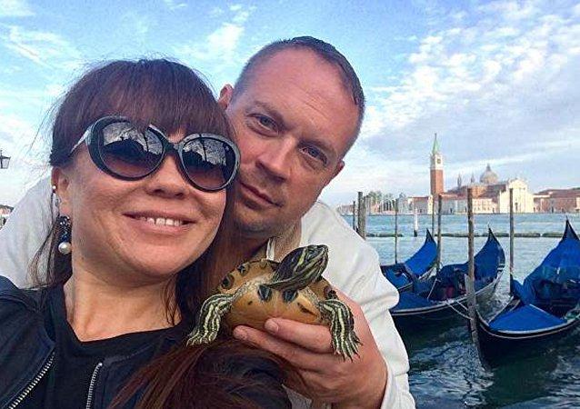 Eski ABD'li subay Bradley Joel Kinser ve Rus eşi Leyla