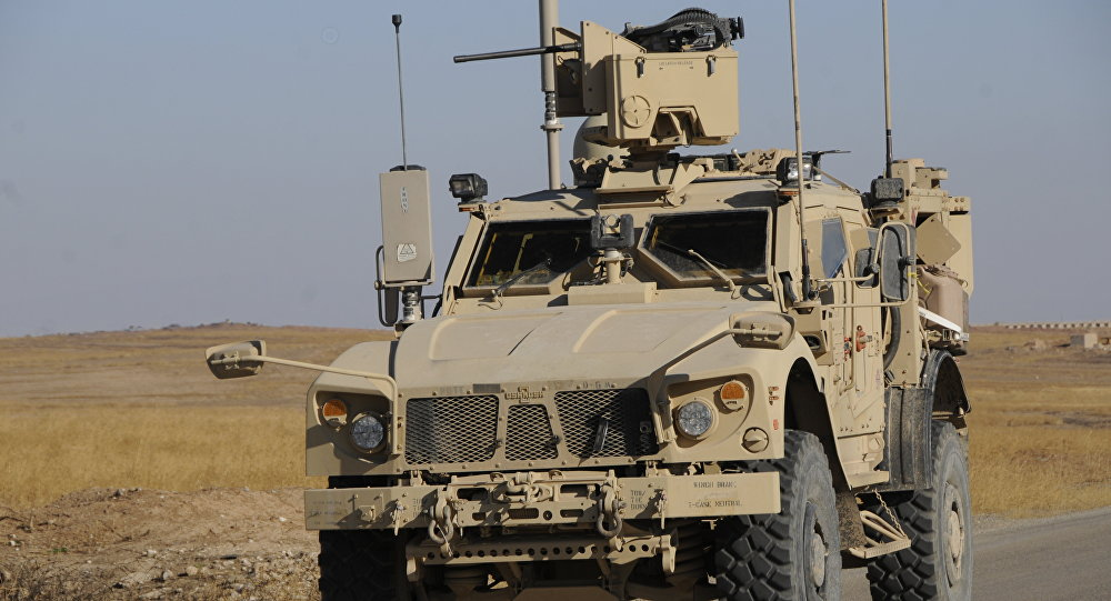 Suriye Menbiç ABD askeri araç