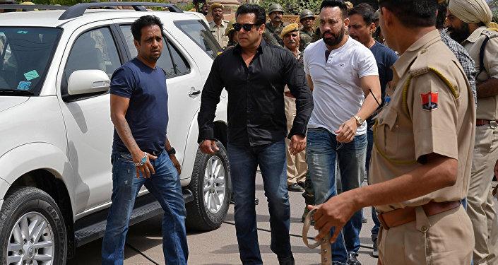 Bollywood yıldızı Salman Khan