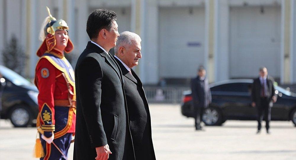 Basbakan Binali Yıldırım Moğolistan'da
