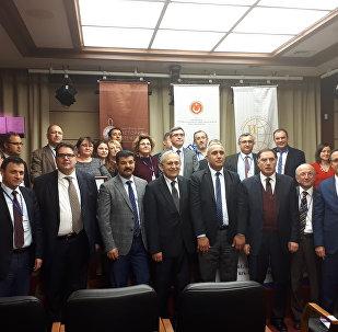 """""""I. Dünya Savaşı ve XX. Yüzyılın Başında Türk-Rus İlişkileri"""" konferansına katılanlar"""