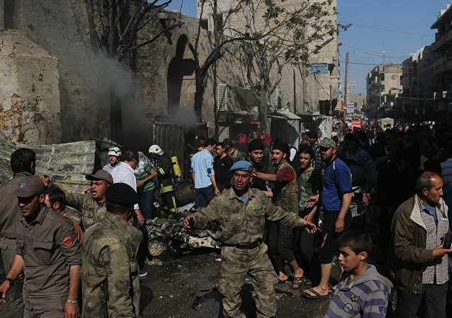 Fırat Kalkanı El Bab bombalı saldırı