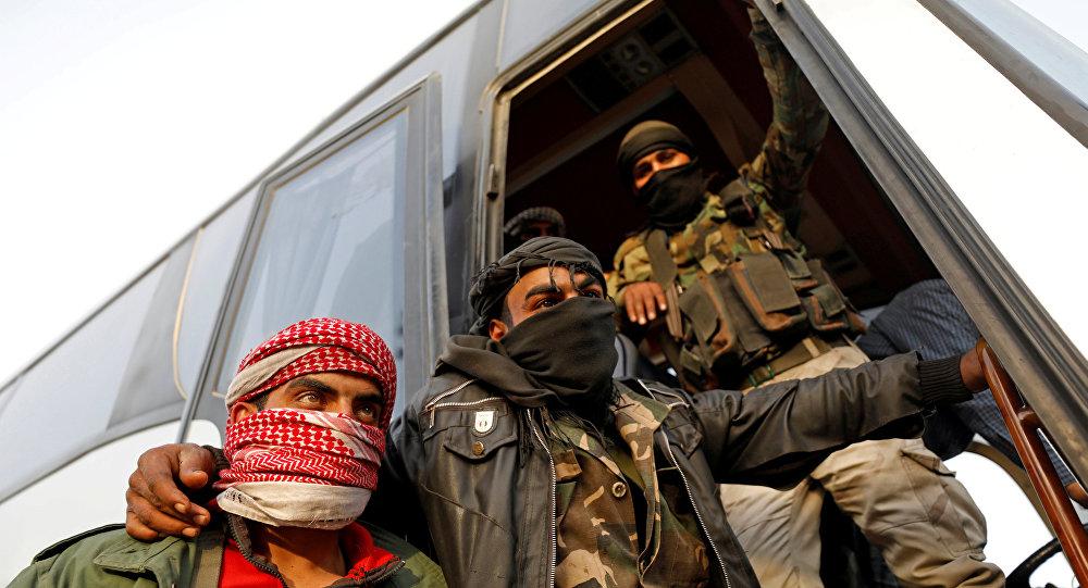 Şam Cobar Hareste otoyolu militan tahliyesi