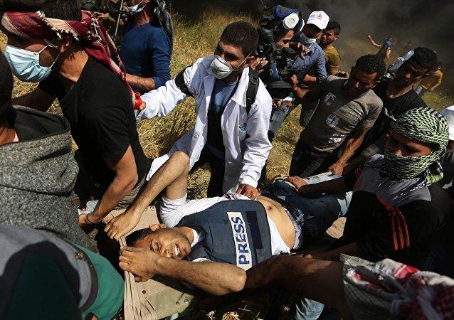 İsrail ordusunun Gazze sınırında 'Büyük Dönüş Yürüyüşü' düzenleyenlere cuma günü açtığı ateşte ölenlerin sayısı, Filistinli gazeteci Yasir Murteca ile birlikte 10'a çıktı.
