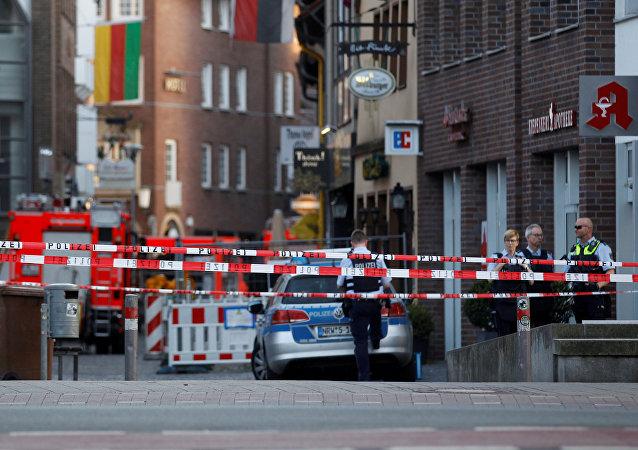 Almanya'nın Münster kentinde araçlı saldırı