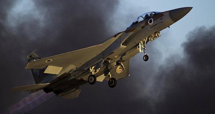 İsrail F-15 savaş uçağı