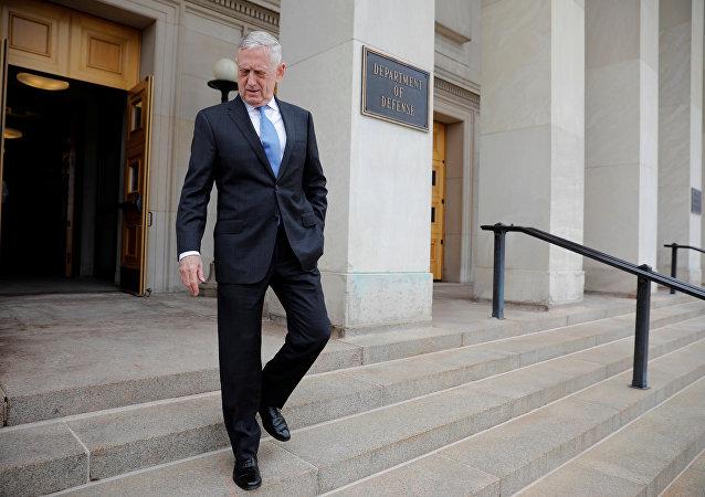 Pentagon ABD Savunma Bakanı Jim Mattis