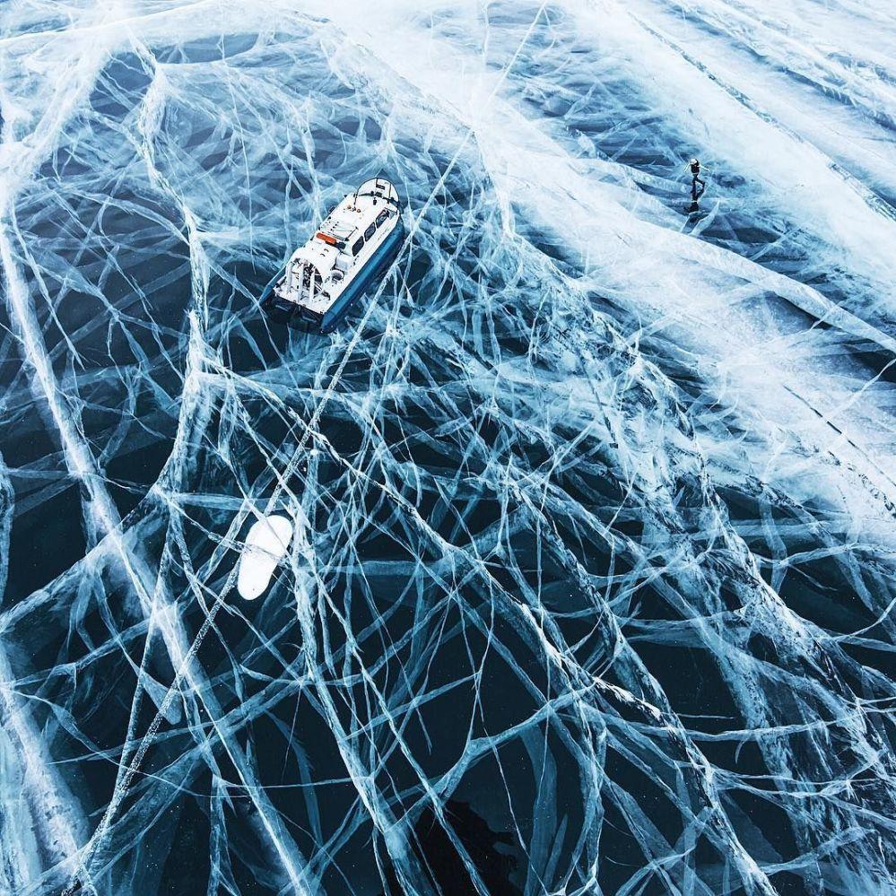 Donmuş Baykal Gölü