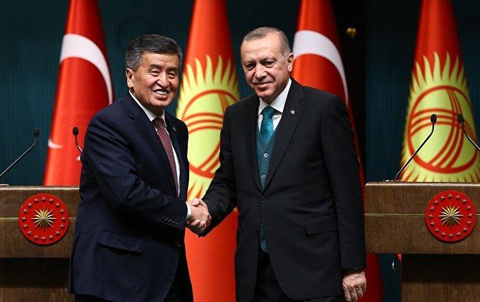 Kırgızistan lideri Ceenbekov: Erdoğan, önümüzdeki ay ülkemize resmi bir ziyaret gerçekleştirecek