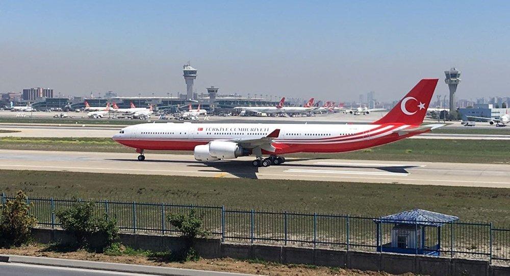 Airbus A340-500 tipi, TC-CAN kuyruk tescilli uçak