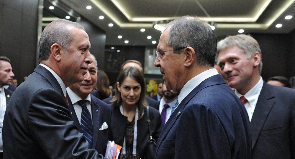 Cumhurbaşkanı Recep Tayyip Erdoğan, Rusya Dışişleri Bakanı Sergey Lavrov (G-20, ANTALYA, 2015)
