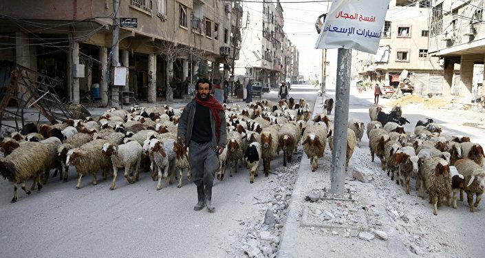 Şam Doğu Guta Duma 11 Mart 2018